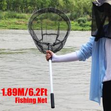 fishingrod, fishingaccessorie, Metal, foldablefishingnet