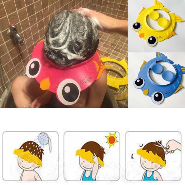 kidsshowerhat, Bathing, kidsbathcap, shield
