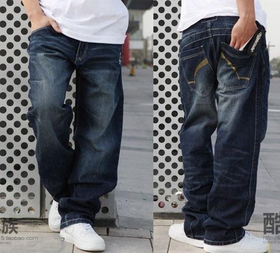 Plus Size, pants, Denim, Men