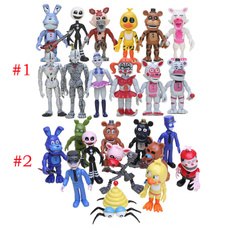 Toy, freddybeartoy, 12pcsfivenightsatfreddy, doll