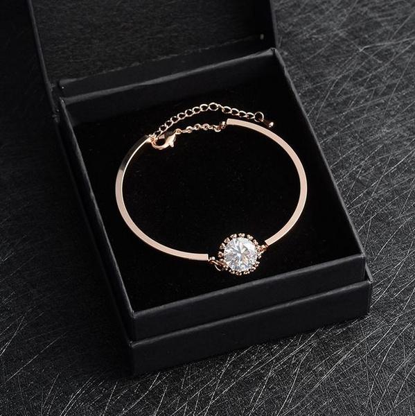 Charm Bracelet, shiningbracelet, lover gifts, 18 k