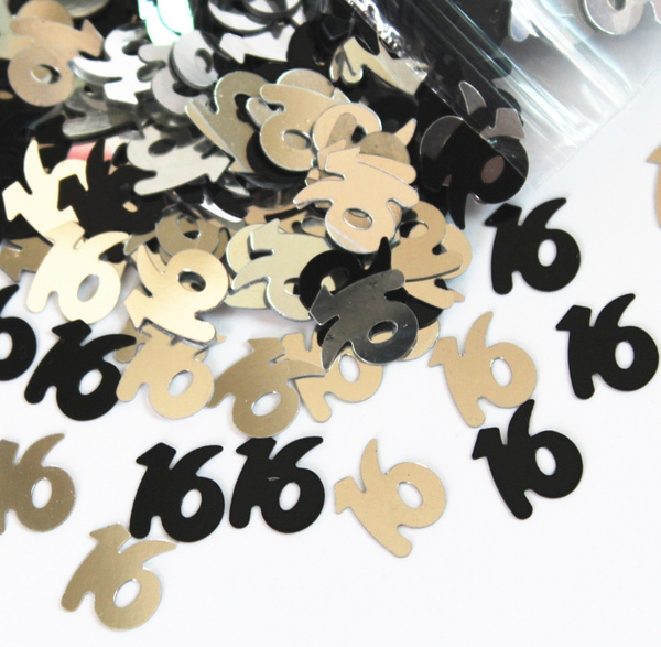 Jewelry, Sweets, number16confetti, decoration