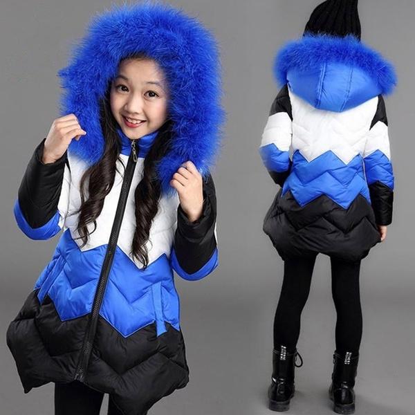 padded, Fashion, chilldren, girlswinterjacket