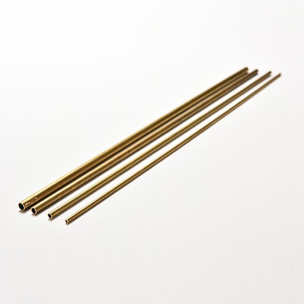 Brass, roundinner3mm, wall05mm, modelbuilding