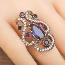 Jewelry, vintagewaterdropring, turkish, Vintage