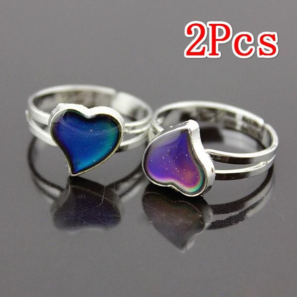 Silver hearts, Heart, bandring, Women Ring