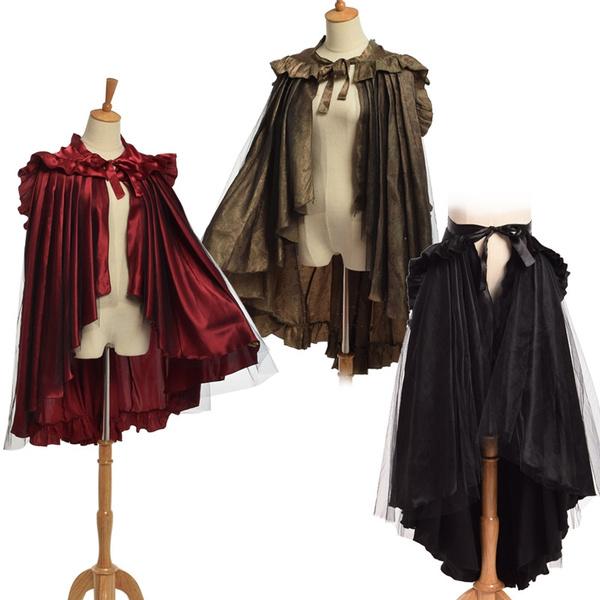 medievalcloak, capedre, ruffle, capecloak