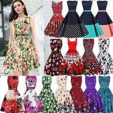 hepburnstyledre, Plus Size, pleated dress, Vintage Dresses