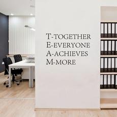 Decor, officeposter, Office, teamworwallart