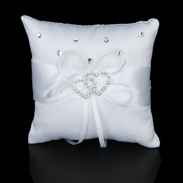 Heart, ringpillow, wedding ring, Jewelry