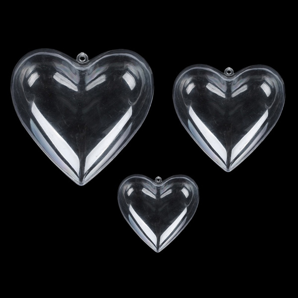 bauble, Heart, candybox, plasticball