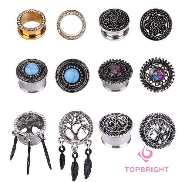 Steel, Box, earpiercingearring, Jewelry