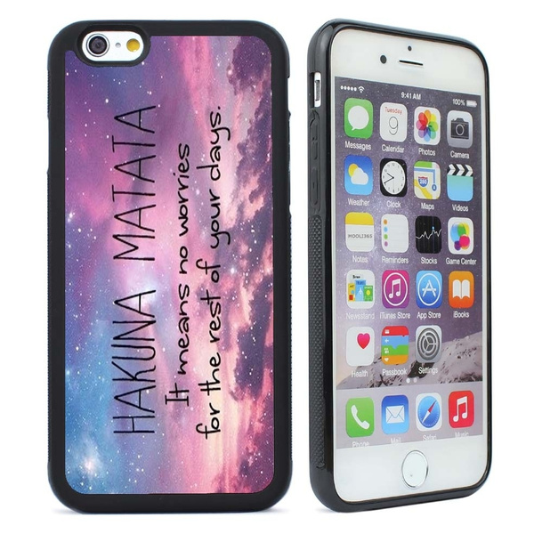 iPhone 6 6s Plus Case Hakuna Matata Space Cell Phone Case Cover for ,iPhone 5s/5c/5,iPhone 4s/4 , iphone 6 6plus ,Samsung Galaxy S3/S4/S5/S6/S7   Wish