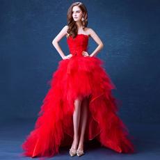 Strapless Dress, Shorts, Lace, long dress