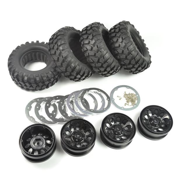 chrome, rcrockcrawlerwheel, scx10wheels19, rcbeadlockwheel