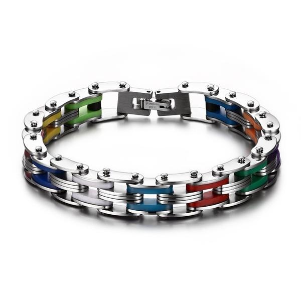 Steel, rainbow, Stainless Steel, lgbtpride