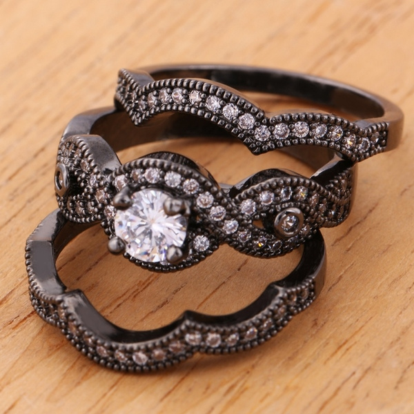 Sterling, Jewelry, gold, Engagement Ring