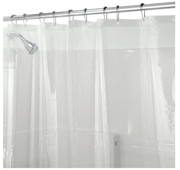 gaugeshower, mildewresistant, Shower Curtains, pevamaterial