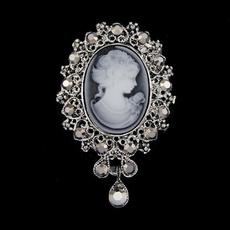 Fashion Accessory, Fashion, Pins, Rhinestone Brooch