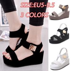 Summer, Korea fashion, Sandals, Womens Shoes