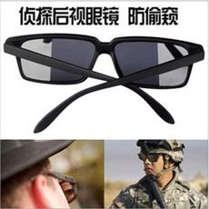 detective, Spy, Fashion, rearviewglasse