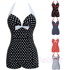 Plus Size, women beachwear, women swimsuit, onepiece