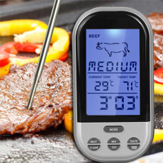 Grill, cookingthermometer, altimeterthermometercompassstopwatch, LCD Screen