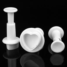 Heart, caketool, Tool, plungermold