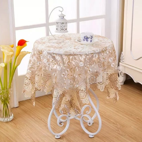 art, lacetablecloth, Tea, kitchenampdining