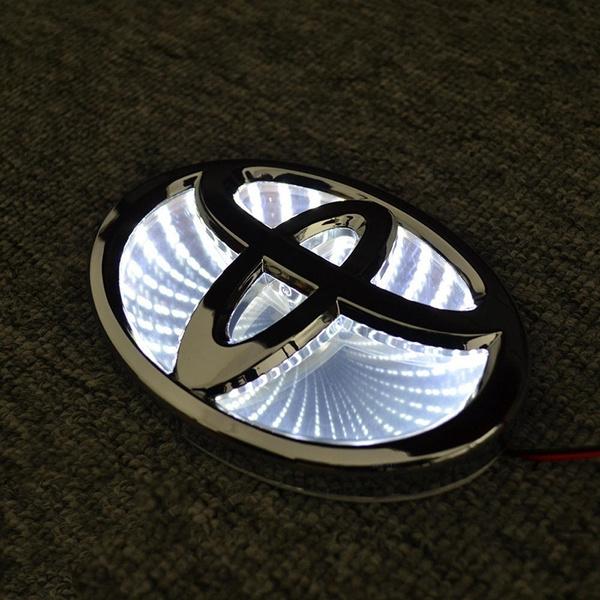 Interior Design, lights, led, toyotalogolight