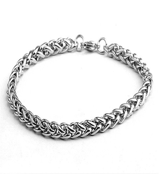 Sterling, Jewerly, Chain, stainlesssteelbracelet