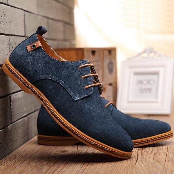 Men Shoes 2019 New Suede Genuine