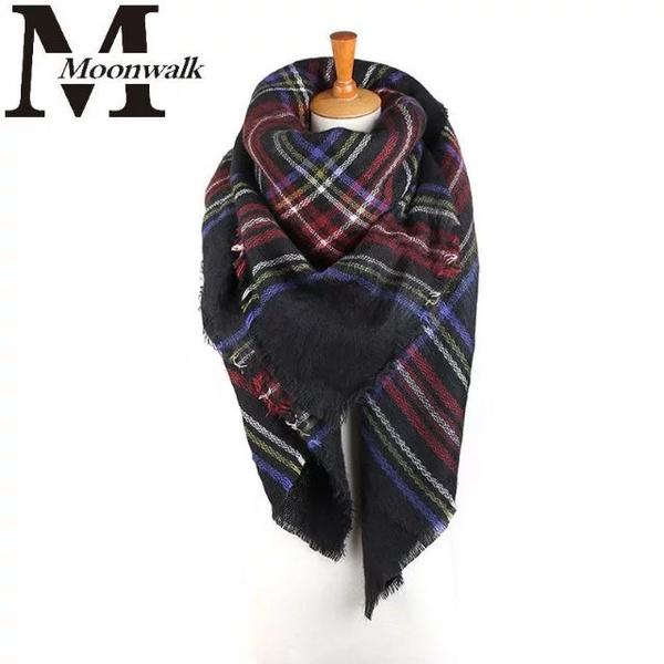 Scarves, plaid, Winter, Blanket