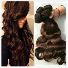 brown, hairweft, Medium, Cosplay