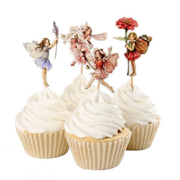 Flowers, birthdaydecor, caketopper, partydecor