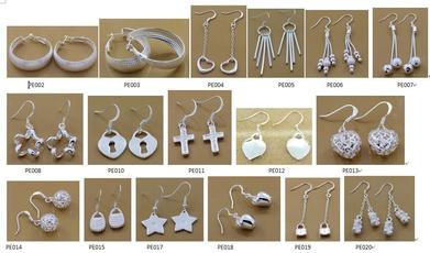 Sterling, Earring, Fashion, Jewelry