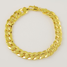 yellow gold, Gifts, Chain, trendy bracelet