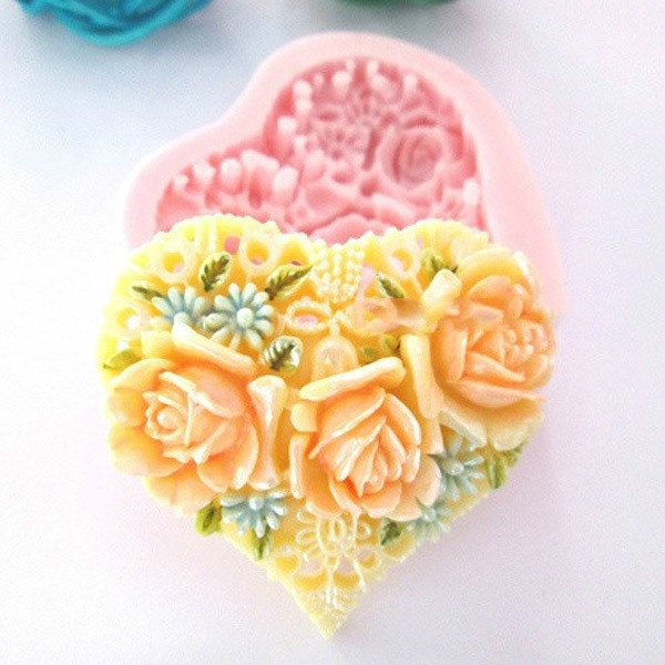 mould, heartcakemould, Silicone, Tool
