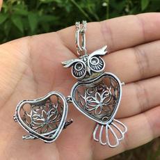 aromatherapyoil, Owl, Fashion, Jewelry