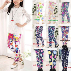 Baby Girl, Floral print, Casual pants, pants