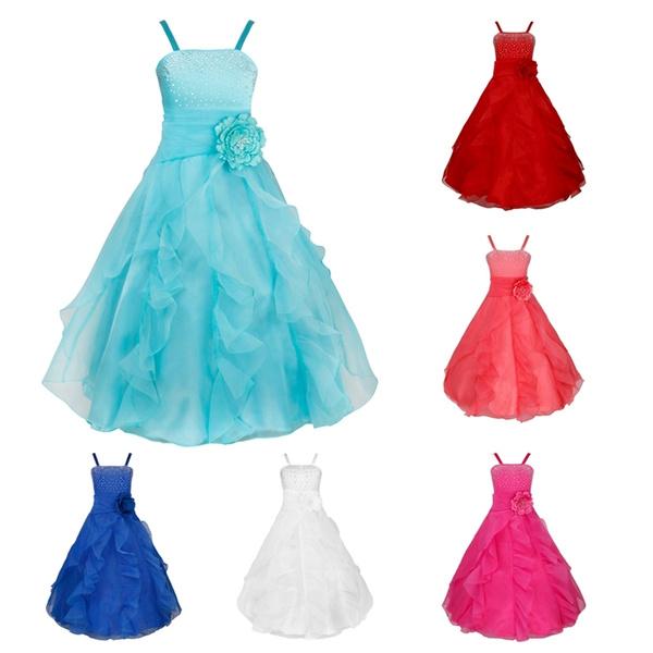 sleeveless, formalgown, flowergirldres, long dress