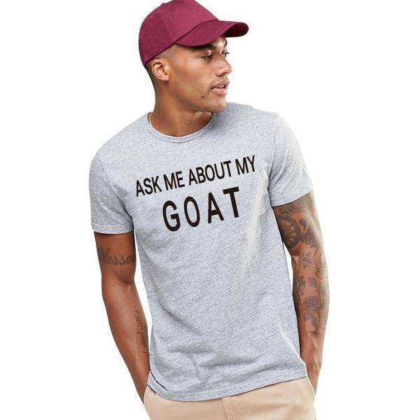 Summer, Cotton T Shirt, letter print, Tops