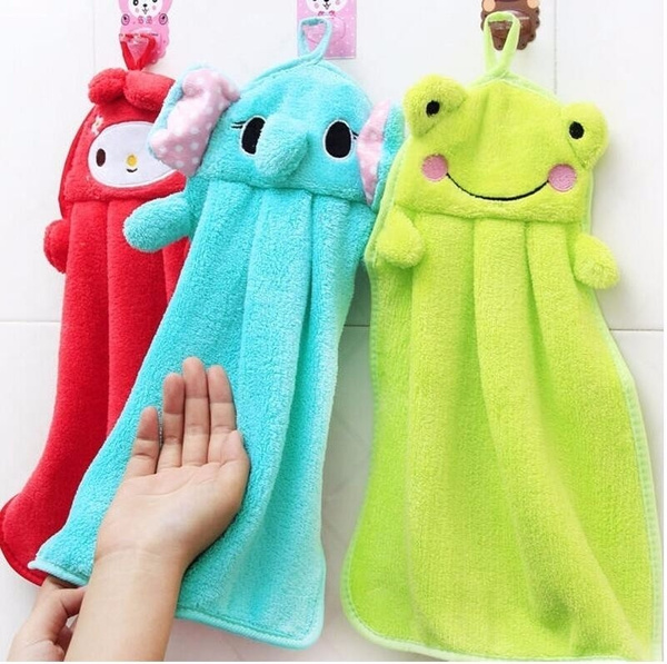 animalhandtowel, Towels, cartoonhandtowel, Colorful