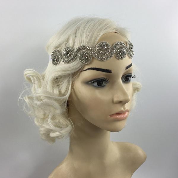 Fashion Jewelry, Waist, Wedding Accessories, 1920sheadpiece