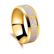 Couple Rings, White Gold, Fashion, jesus