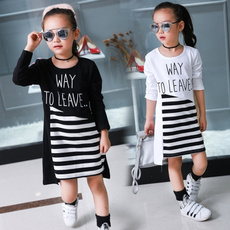 Fashion, longtop, Cotton T Shirt, letter print