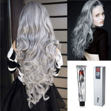 lightgray, Gray, temporaryhaircolor, Makeup