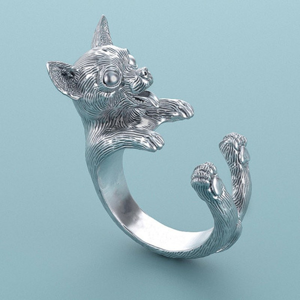 cute, Fashion, Jewelry, dogring