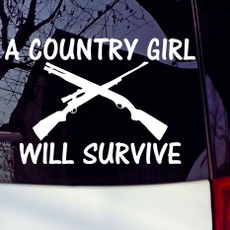 tough, Country, Stickers, gun