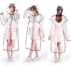 reusableraincoat, womenlady, plasticraincoat, Convenient